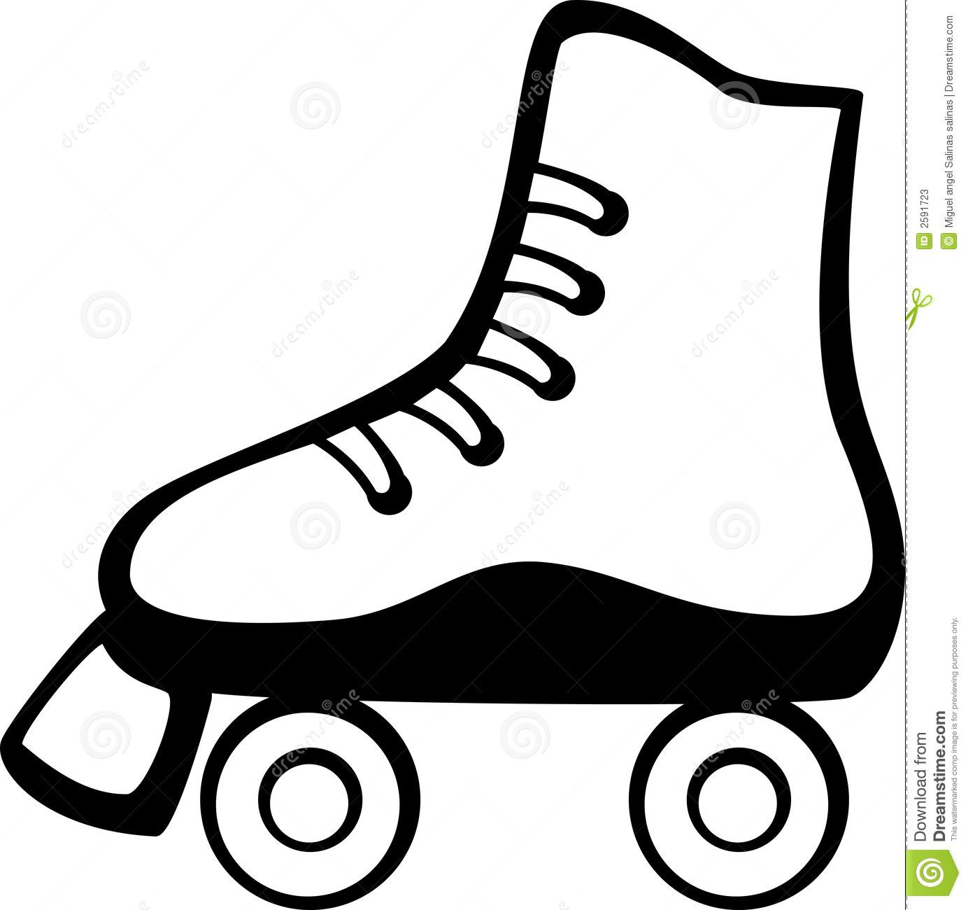 Ice Skates Clipart