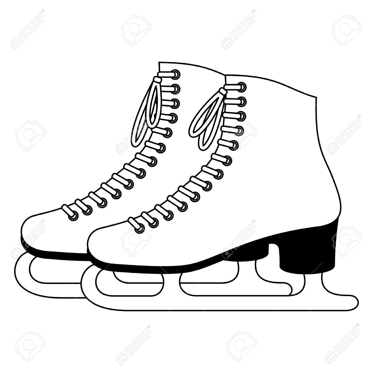 Ice Skating Clipart