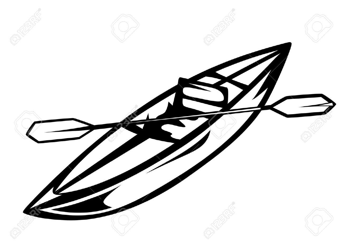 Kayak Cliparts
