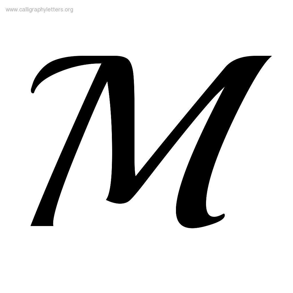Letter M Outline