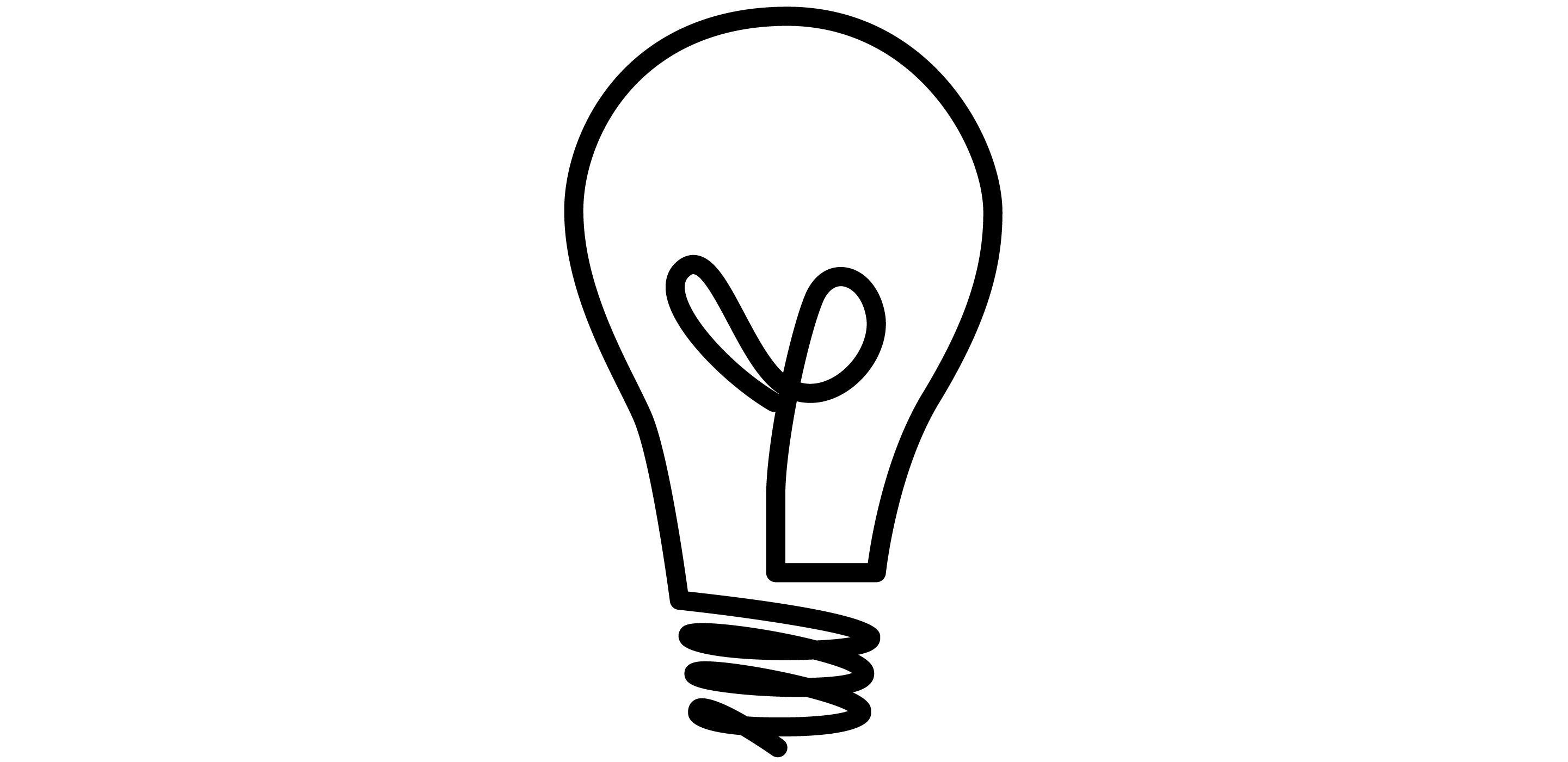 Light Bulb Outline
