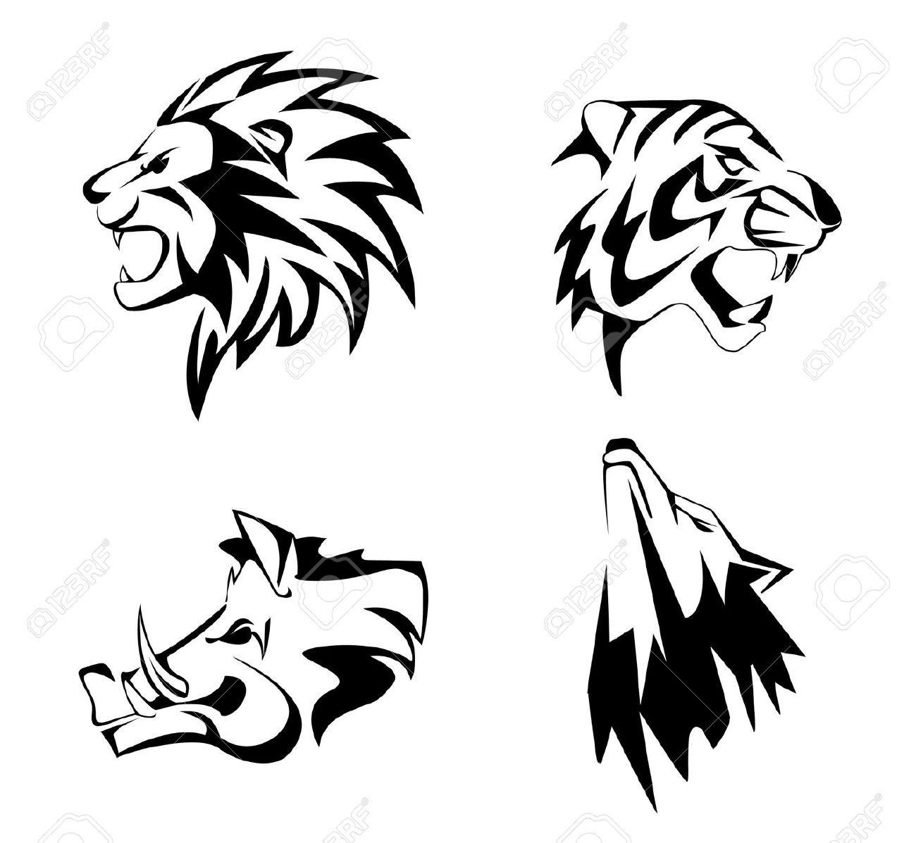 Lion Face Clipart
