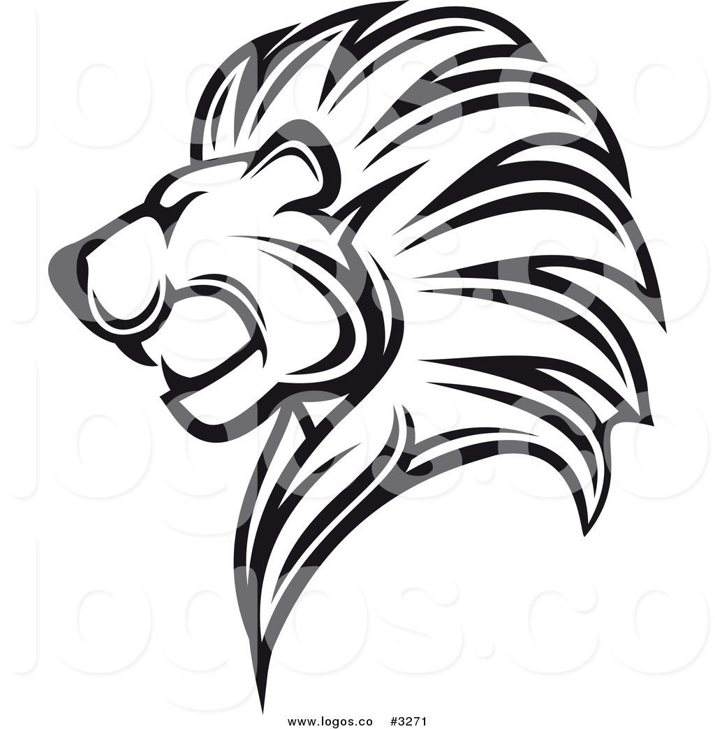 Lion Logo Design Clipart