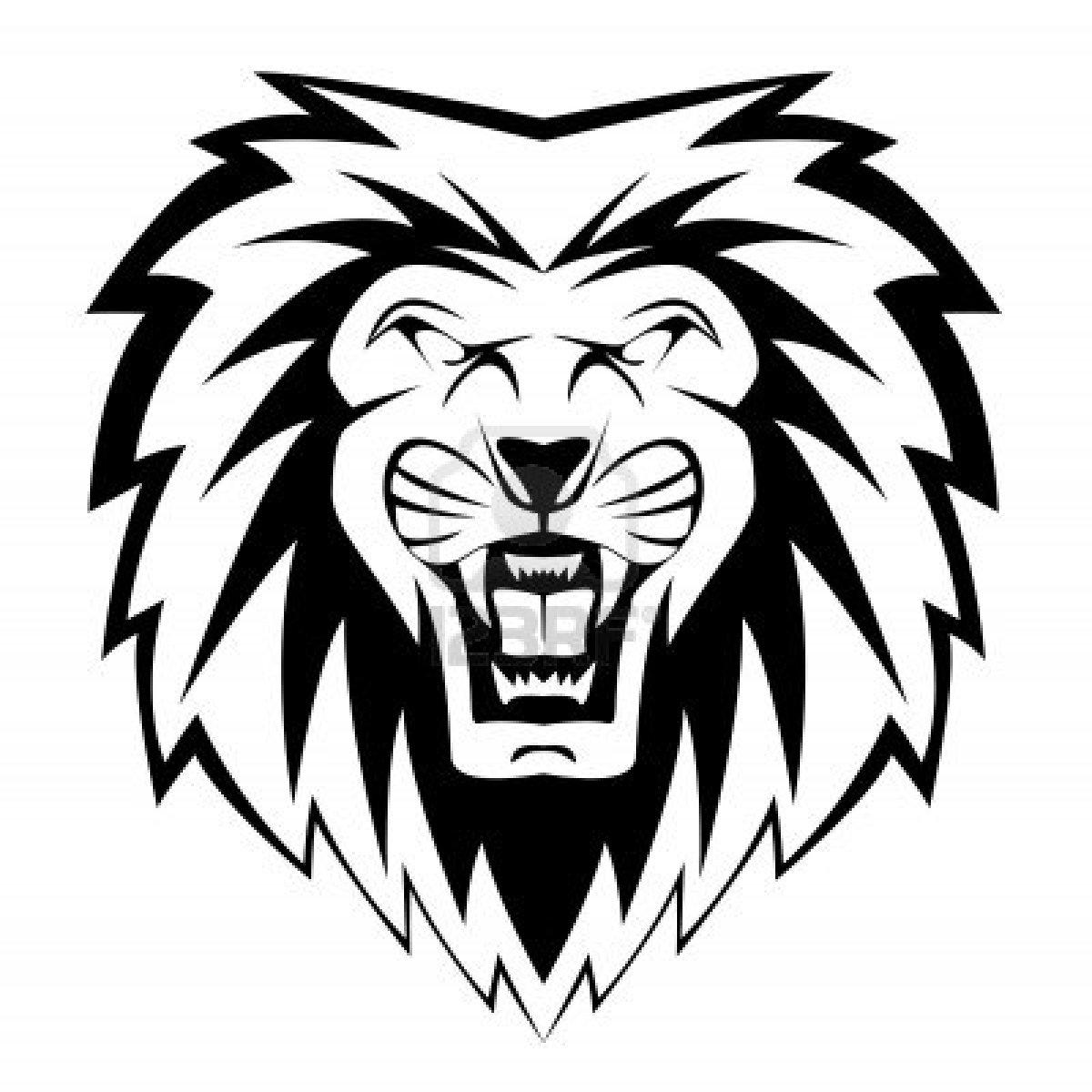 Lion Roar Drawings