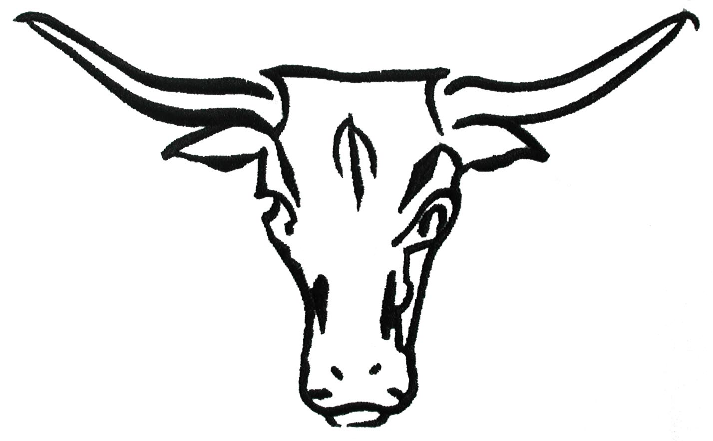 Longhorn Cattle Cliparts