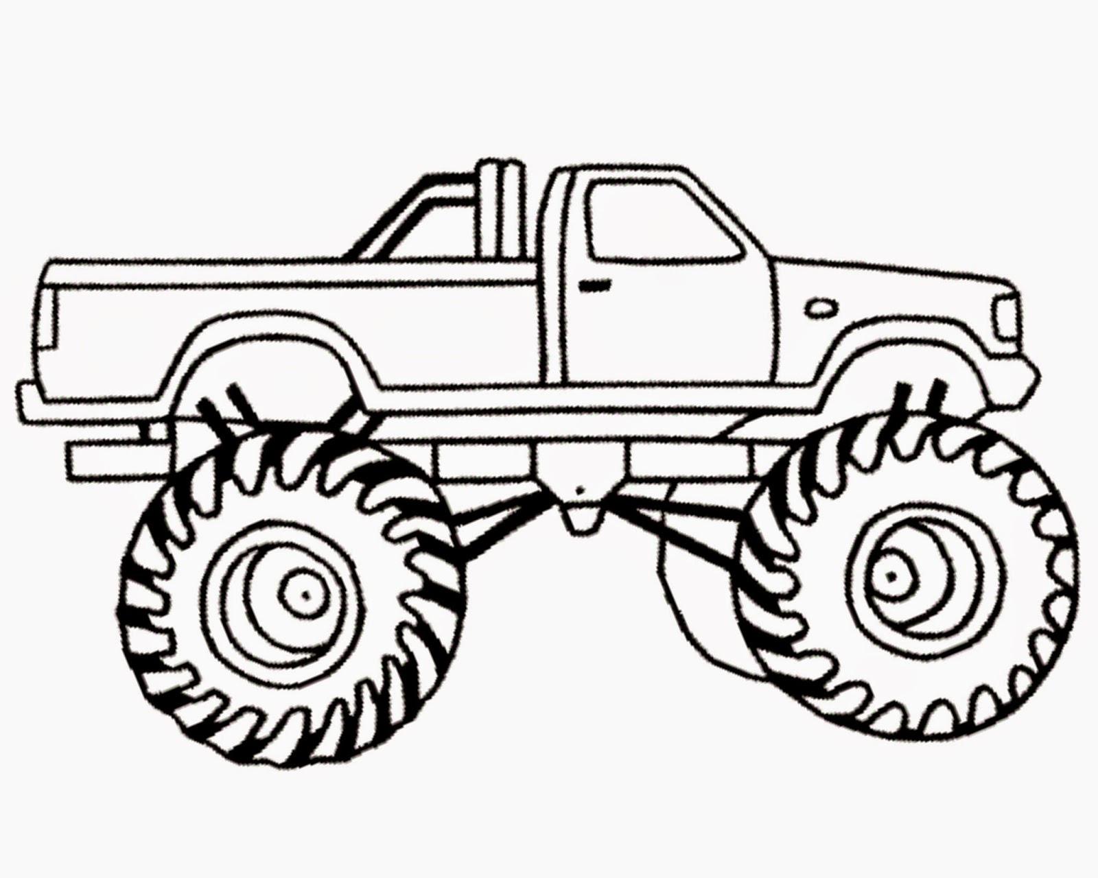 Monster Truck Clipart Free