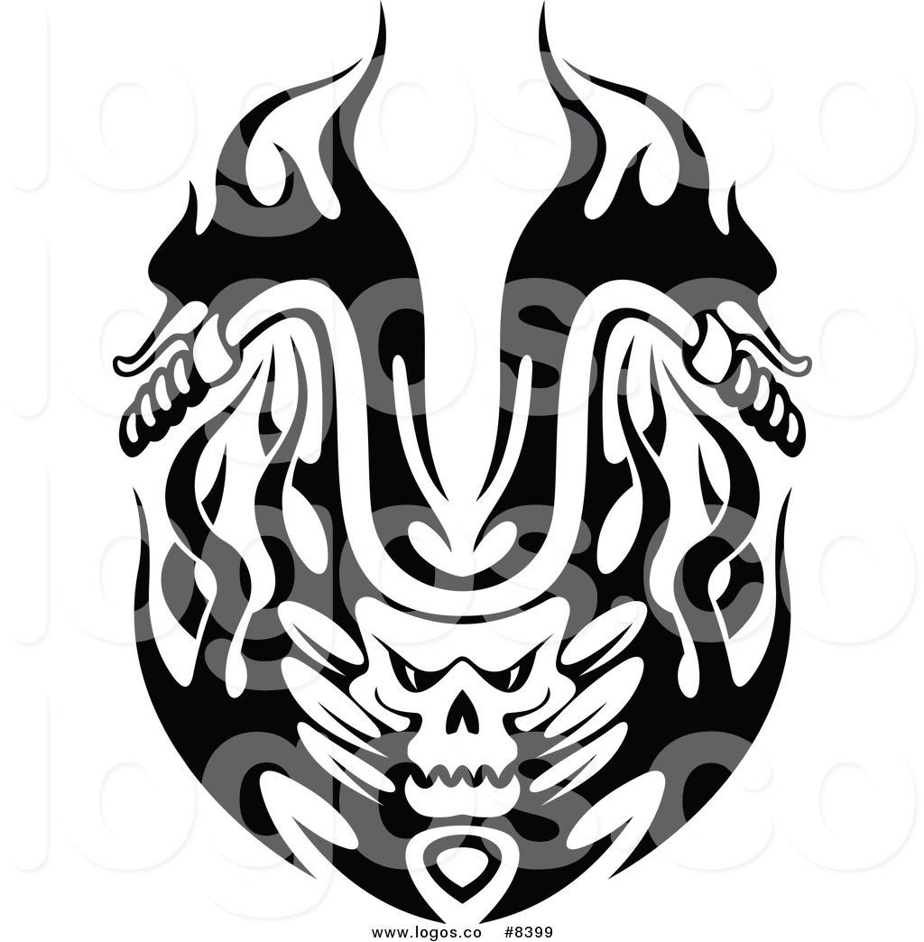 Motorcycle Black And White Clipart