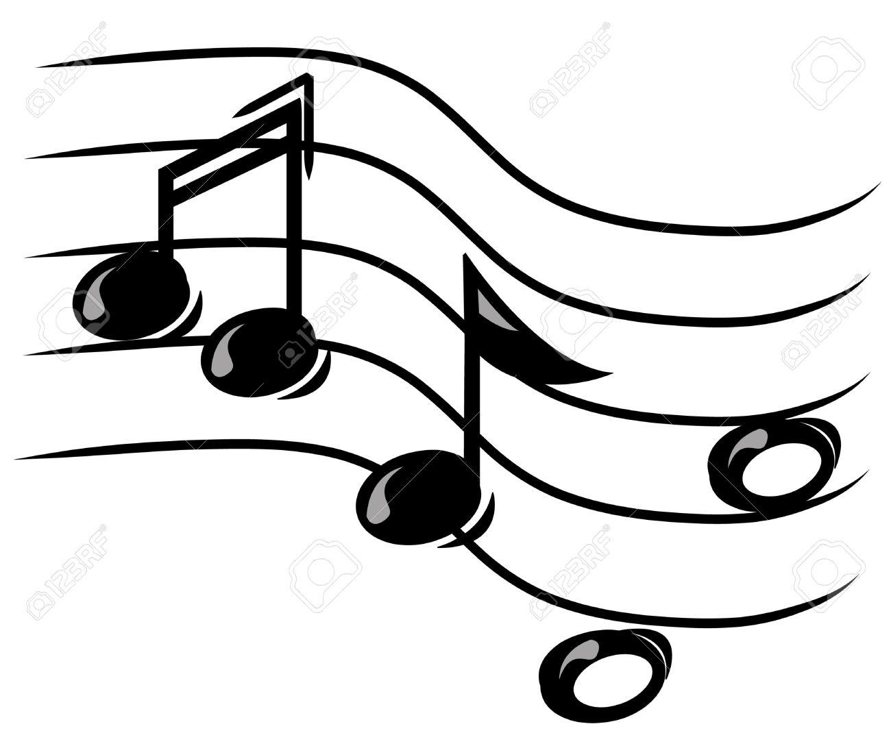 Music Staff Art