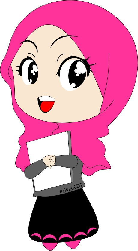 Download hijab cliparts and use any clip art,coloring,png graphics in your website,. Muslim Girl Clipart   Free download on ClipArtMag