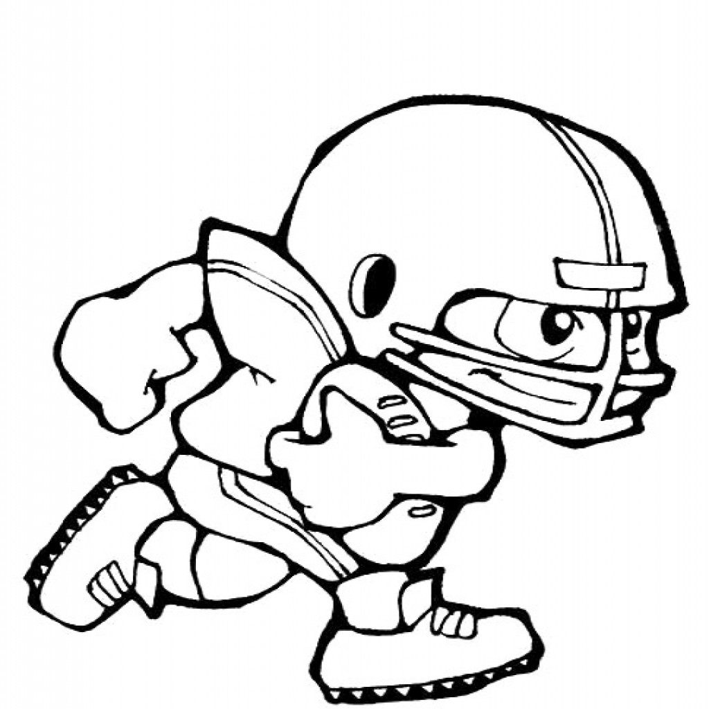 Nfl Football Player Drawings