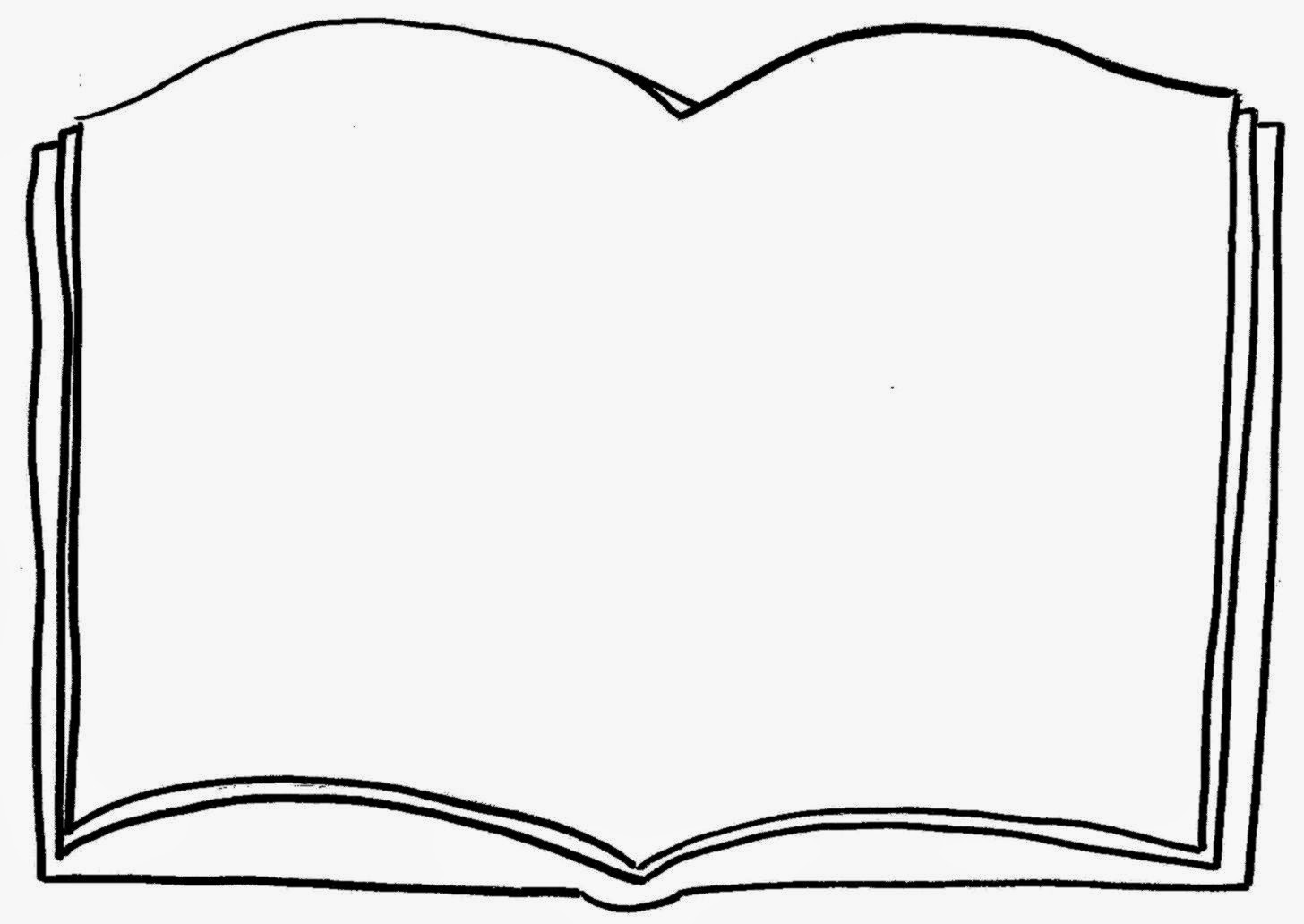 Open Bible Drawing