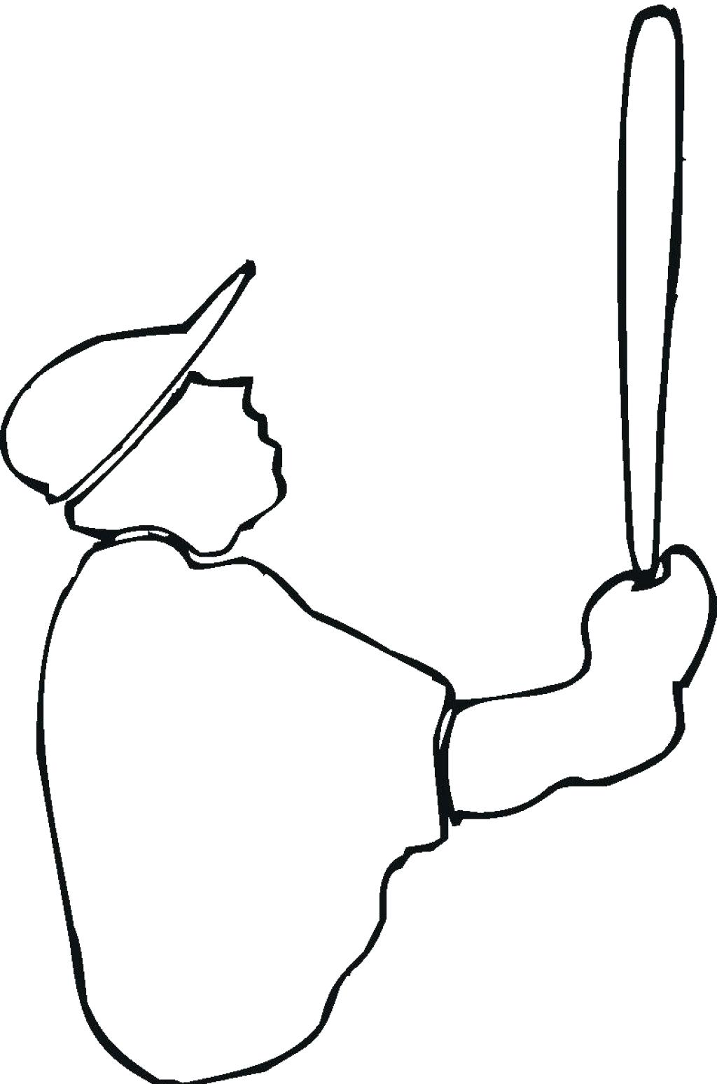 Outline Of A Person
