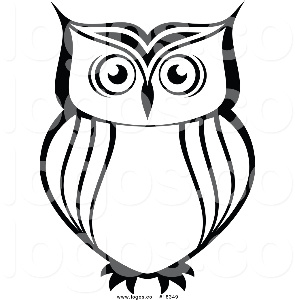 Owl Silhouette Cliparts