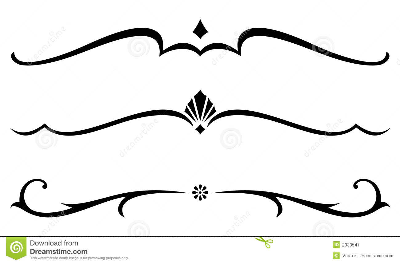 Page Divider Clipart