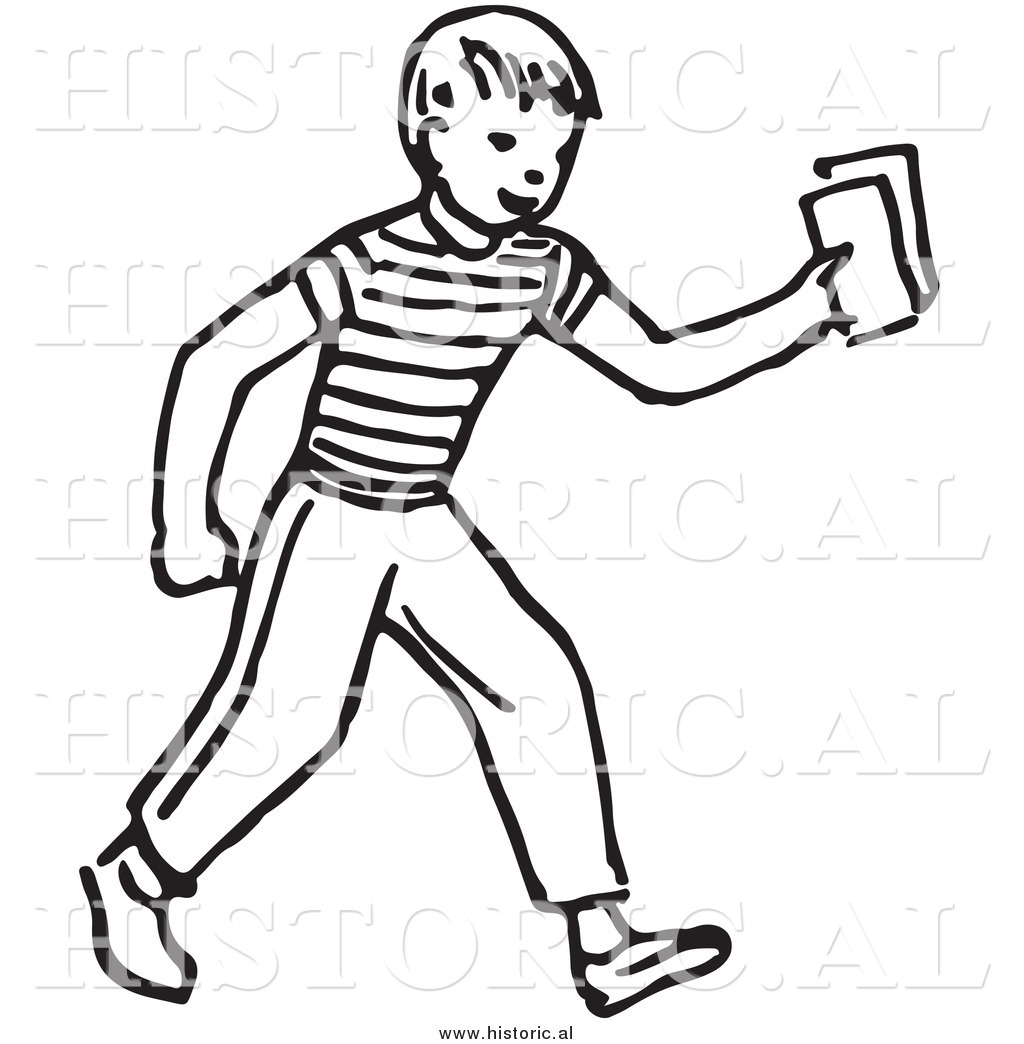 Person Outline Clipart