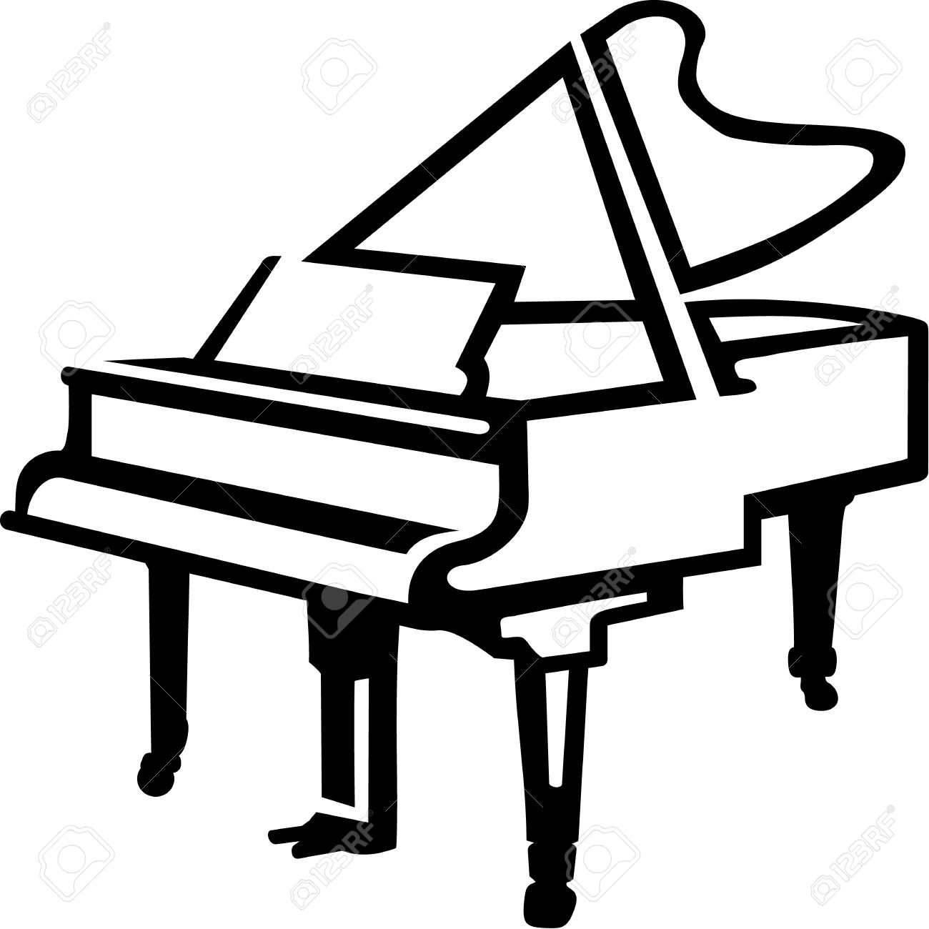 Pianist Clipart