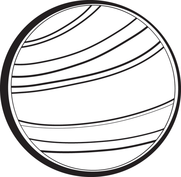 Planet Clipart Black And White Free download best Planet