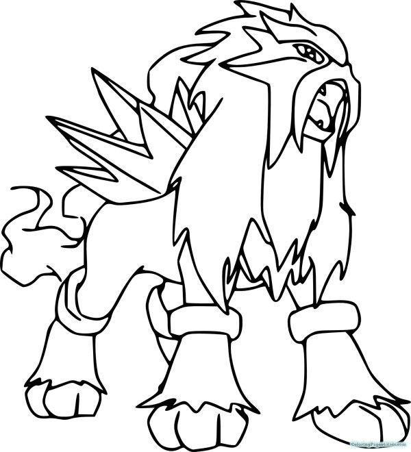 pokemon coloring pages # 14