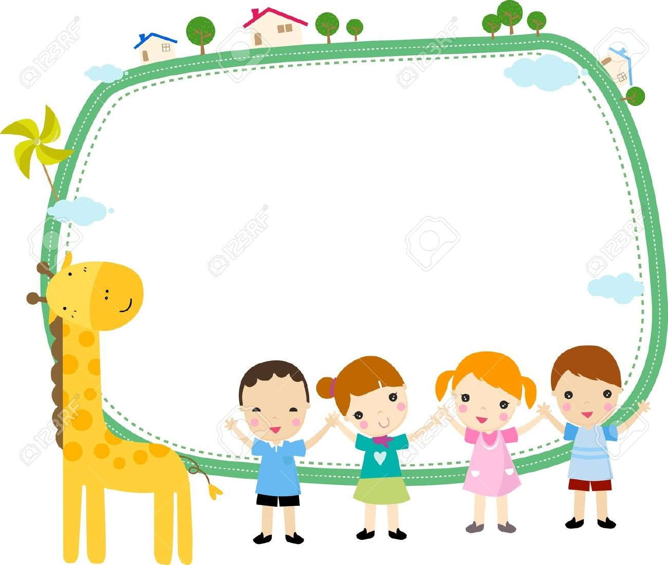 Preschool Border
