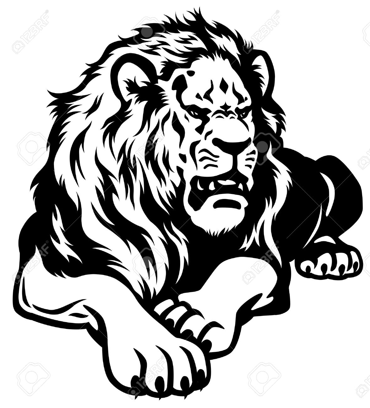 Roaring Lion Clipart Free
