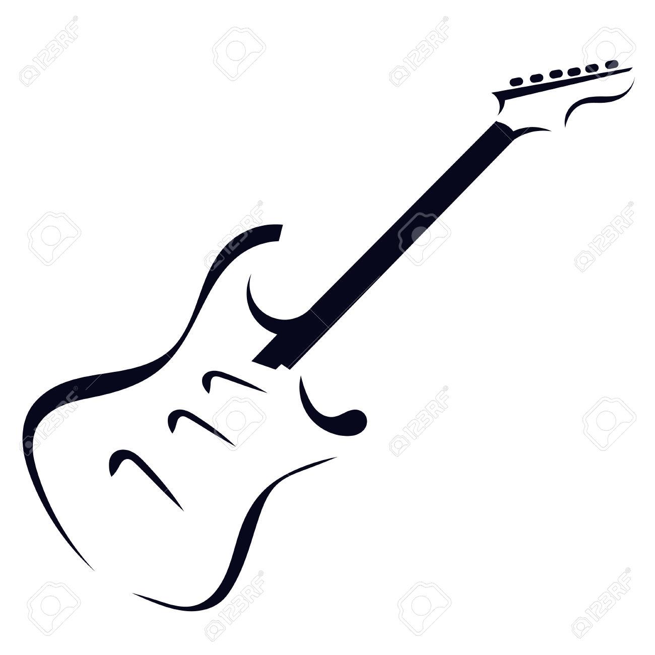 Rockstar Guitar Clipart