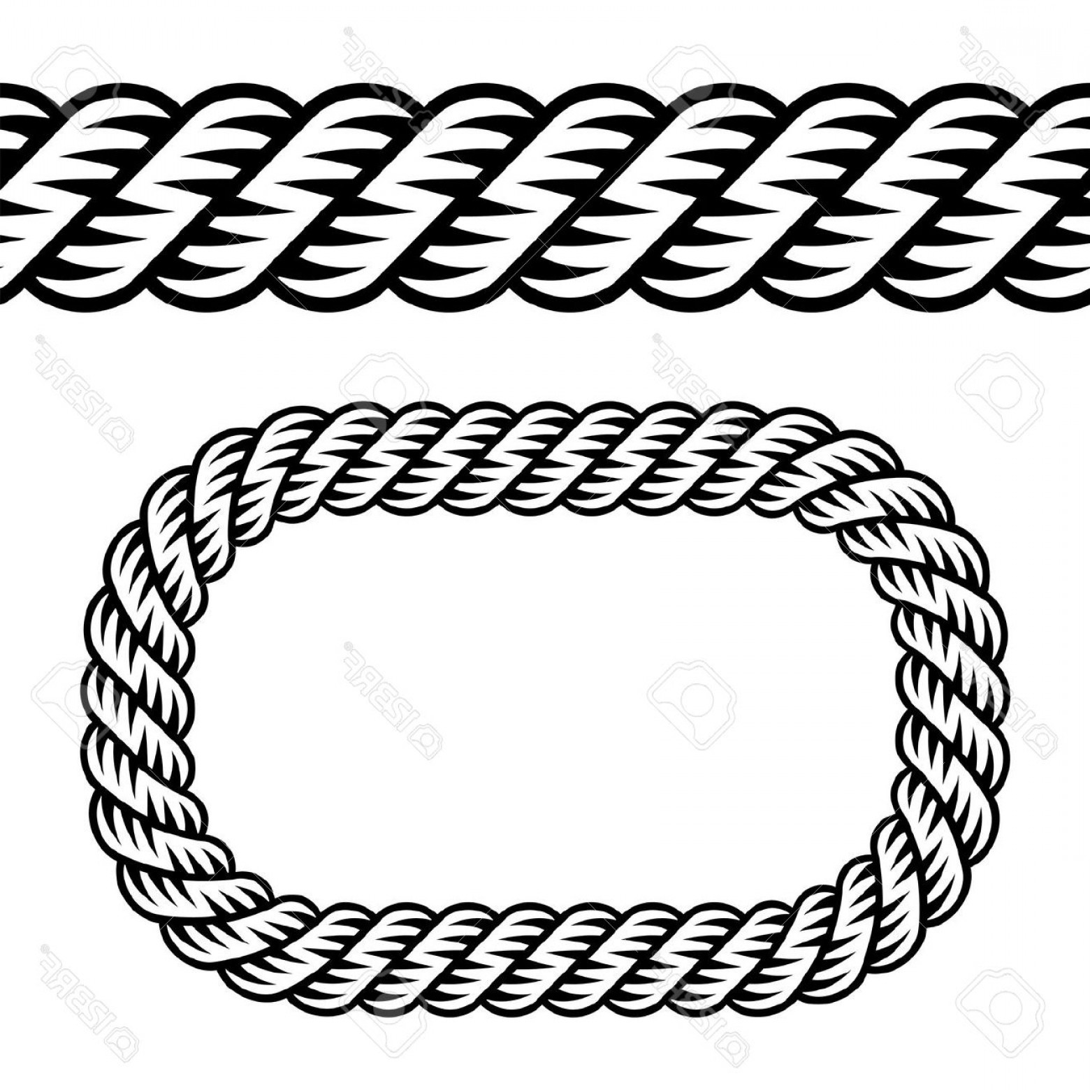 Rope Circle Clipart