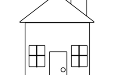 Secrets Picture Of House For Kids Easy Drawing ClipartXtras How To Draw A Simple With