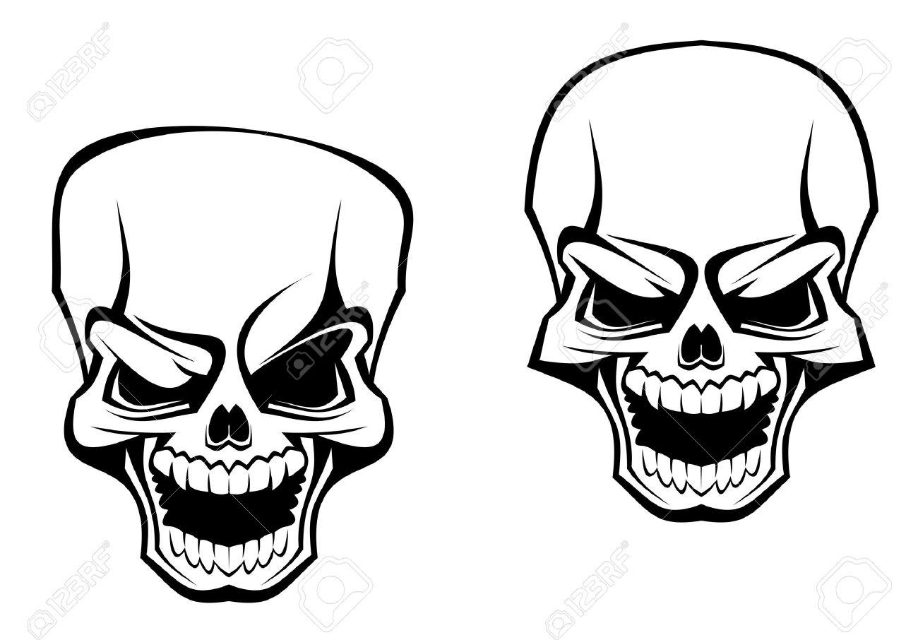 Skeleton Line Art