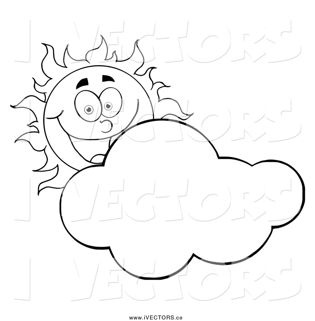 Sky Clipart Black And White