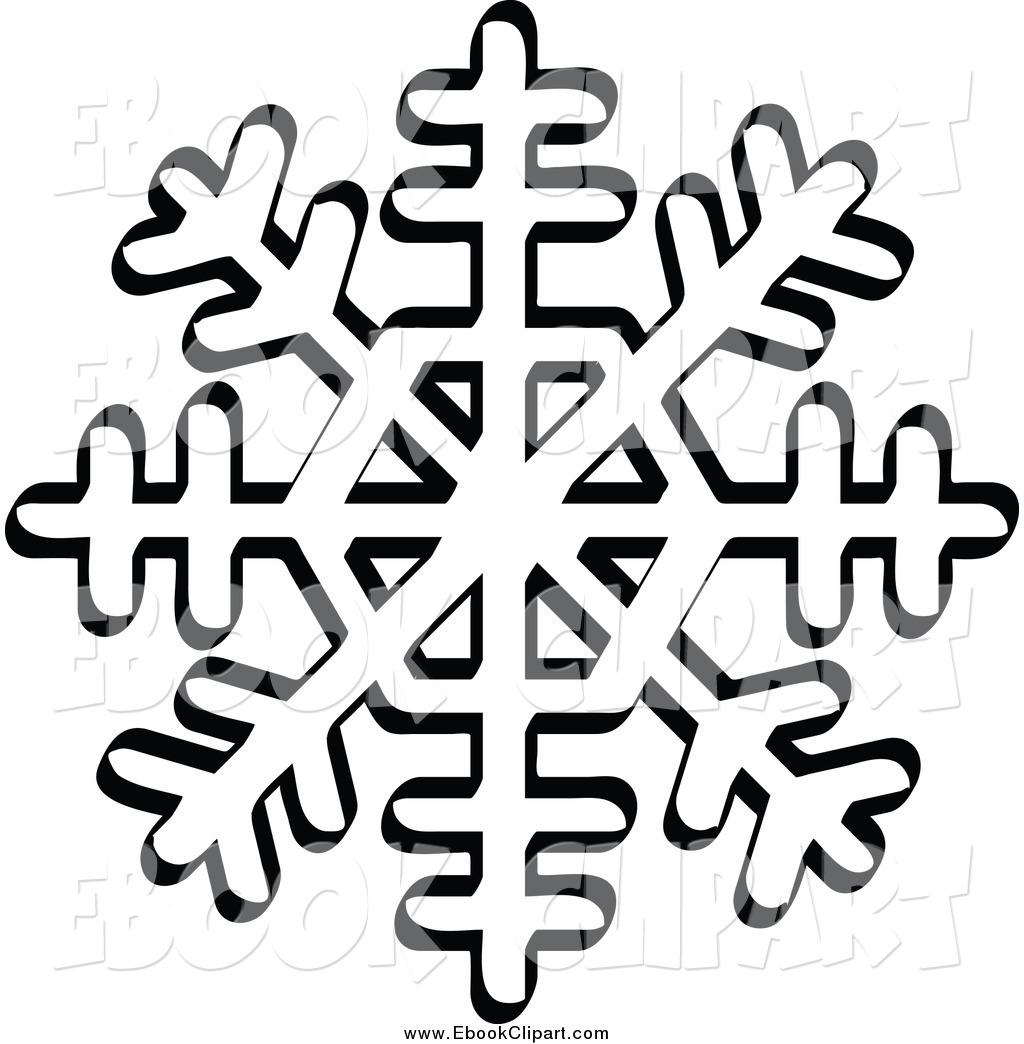 Snow Flake Clipart