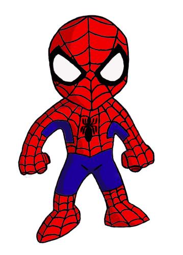 And Spider Man Drawings Superhero Deadpool