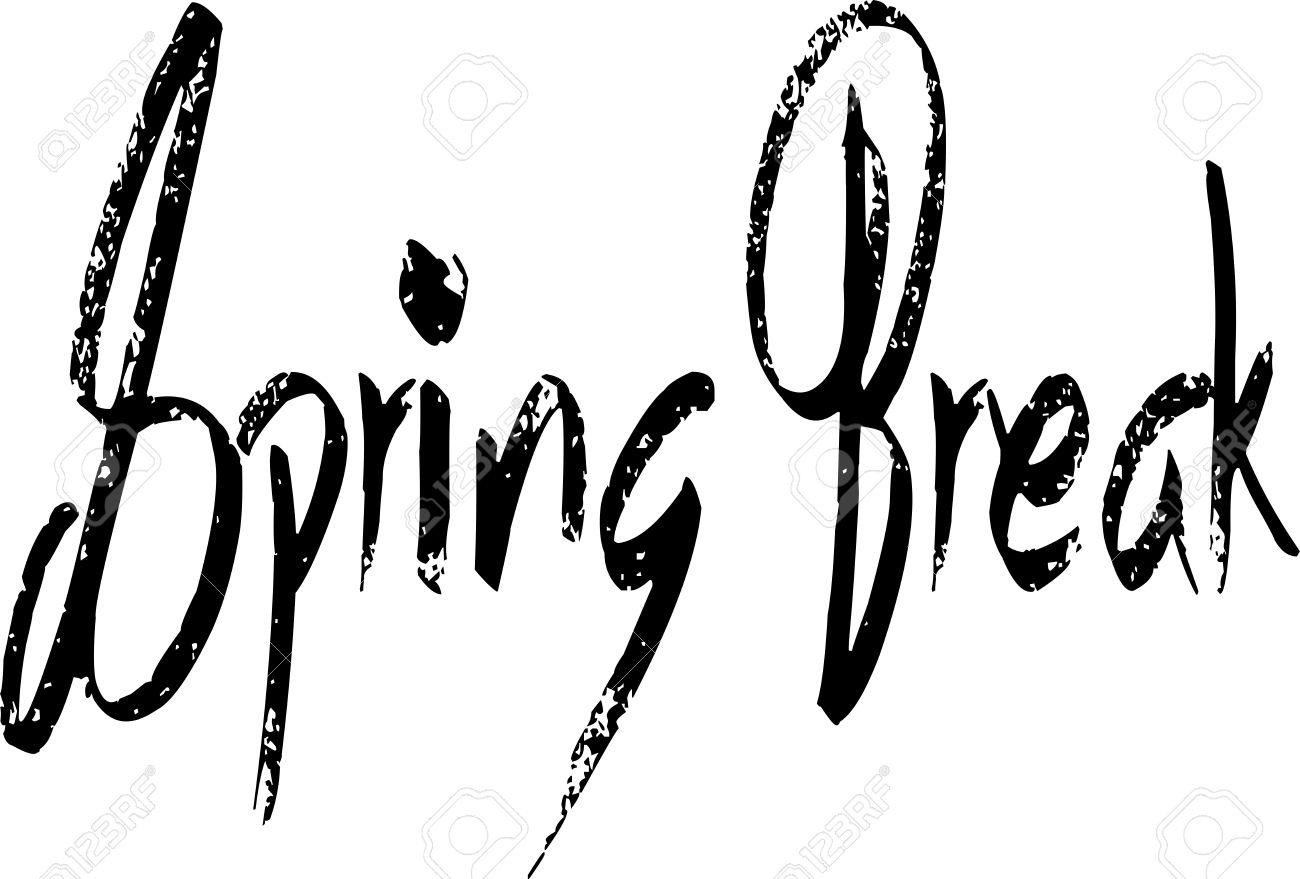 Spring Break Clipart