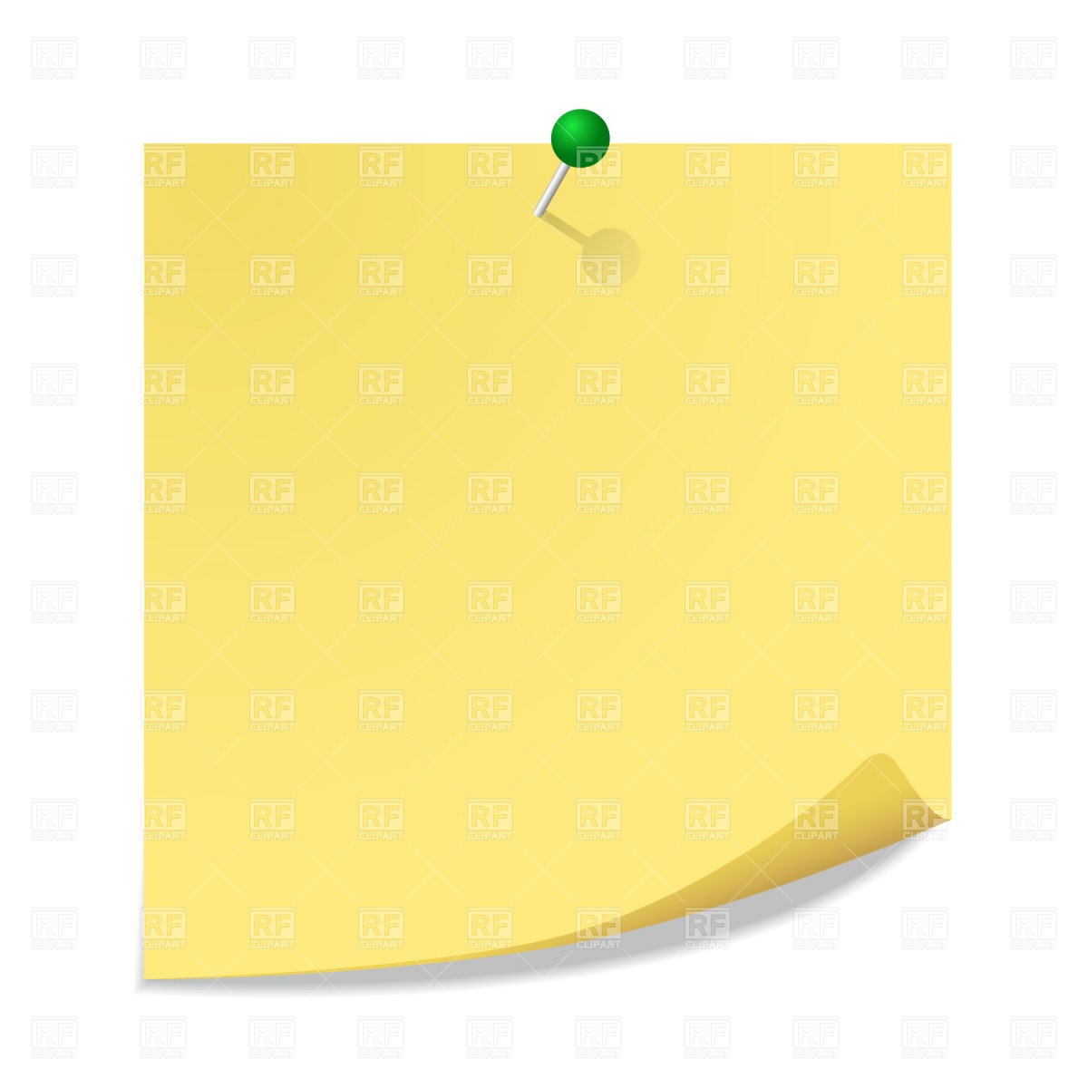 Sticky Notes Clipart