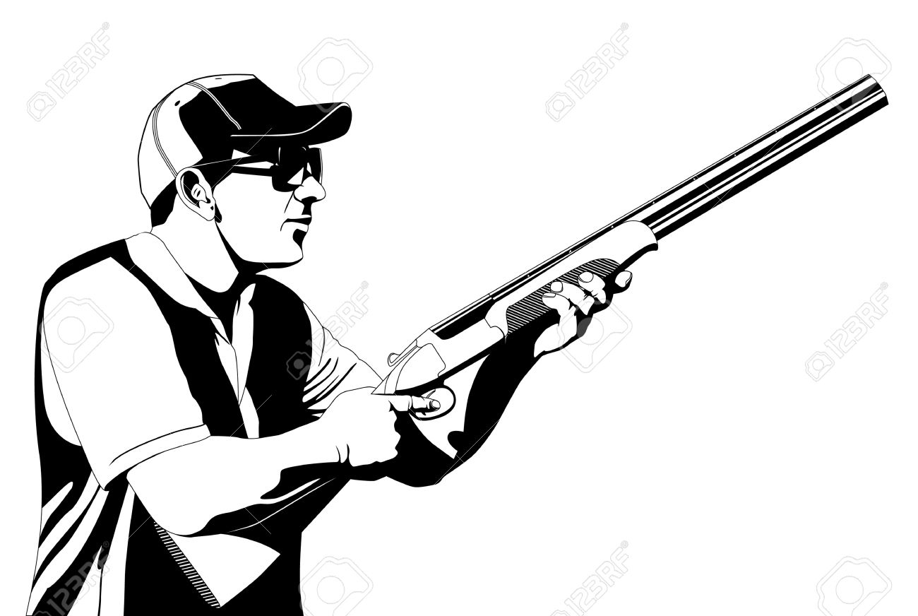 Target Shooting Clipart