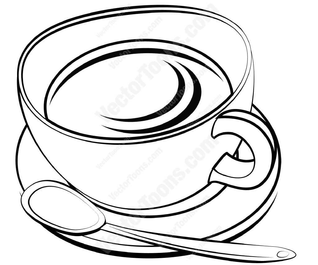 Teapot Clipart Black And White