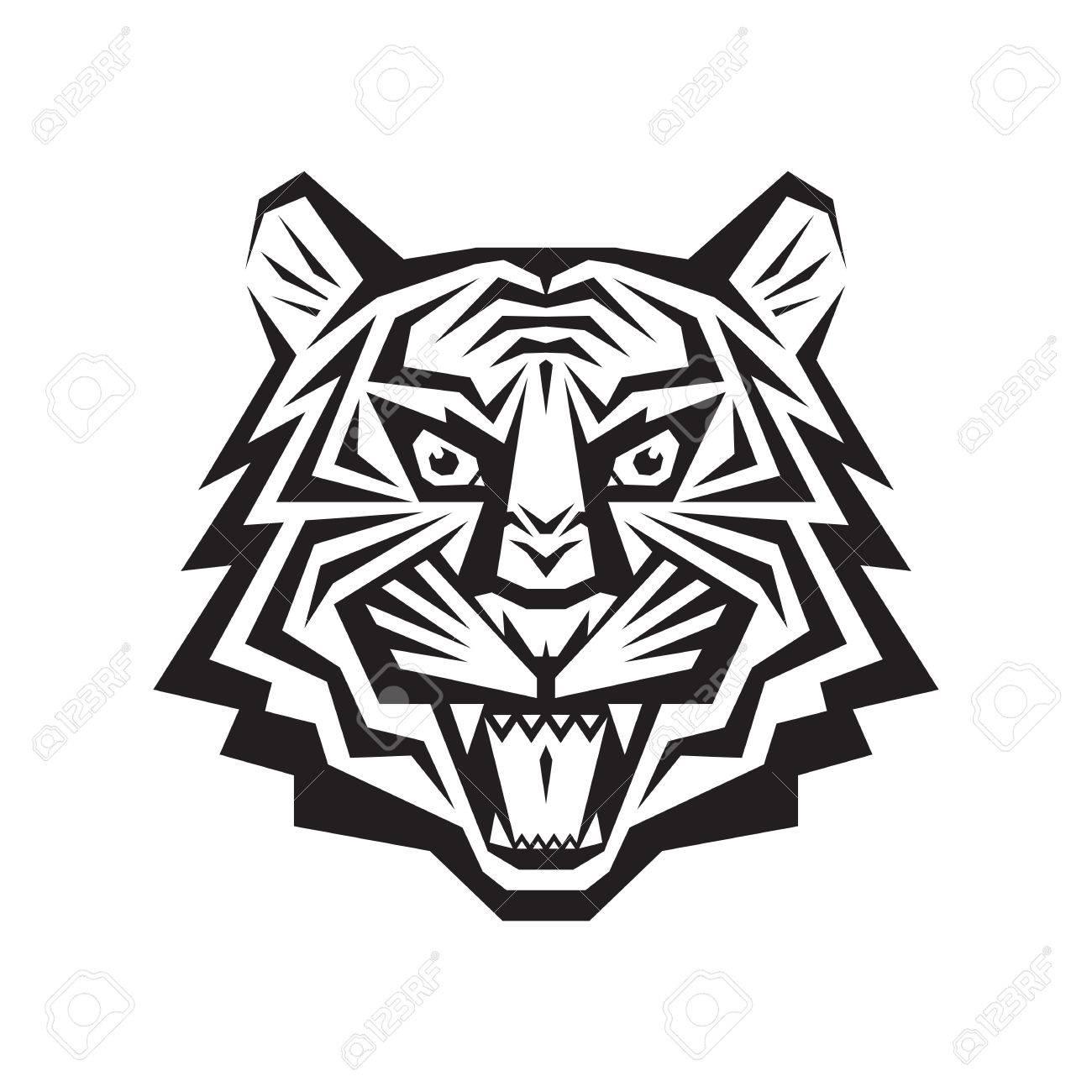 Tiger Head Cliparts