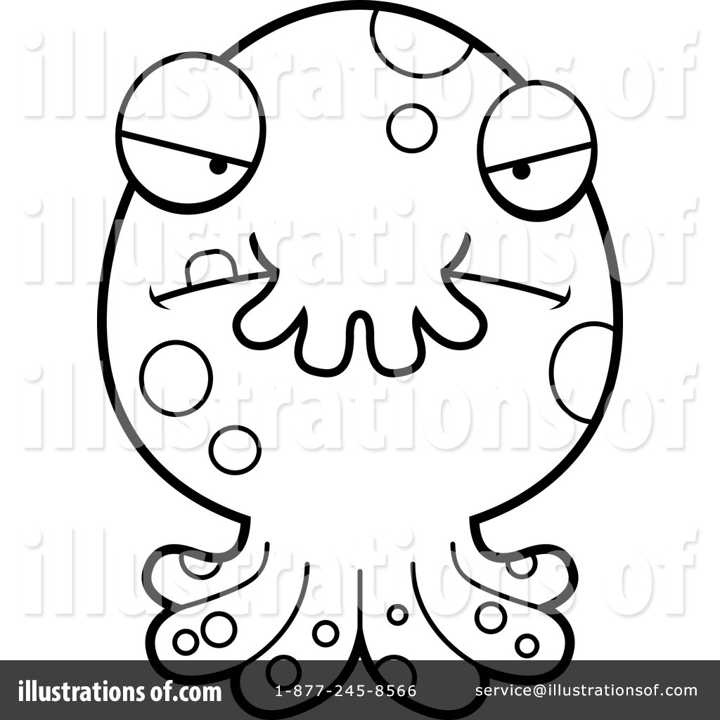 Tombstone Coloring Page Clipart