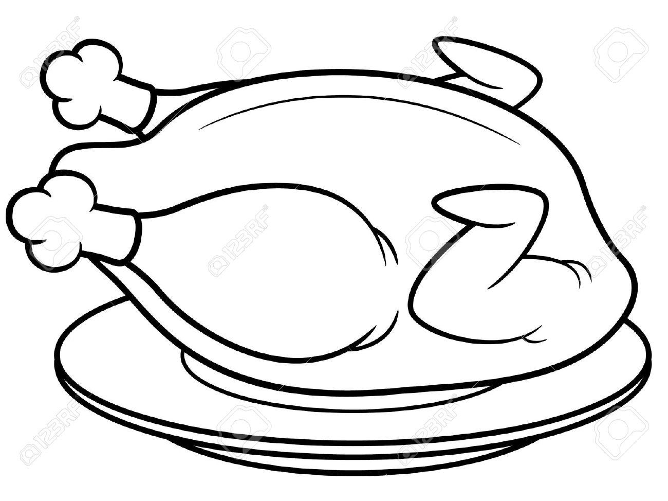 Turkey Legs Clipart