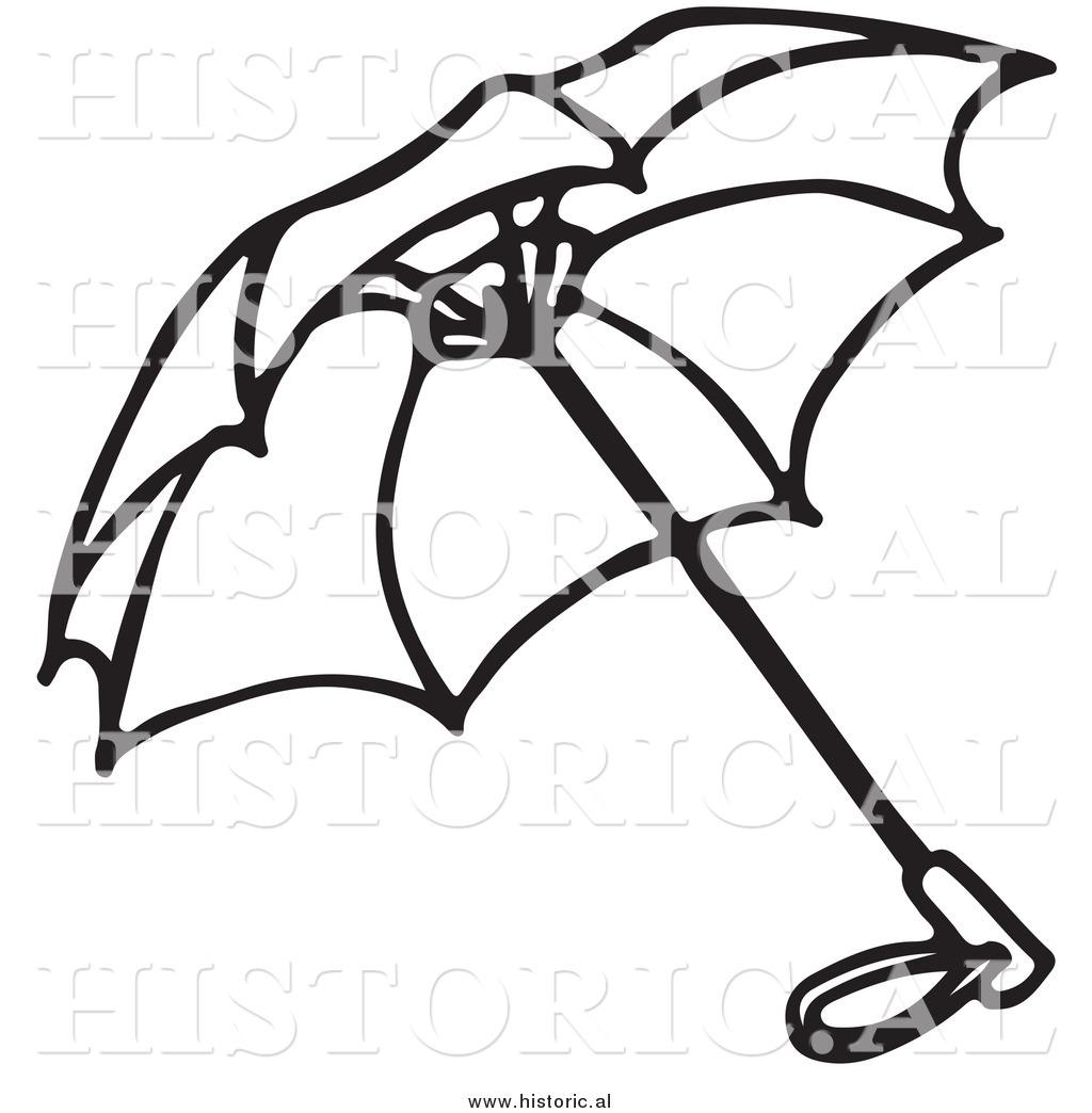 Umbrella Outline