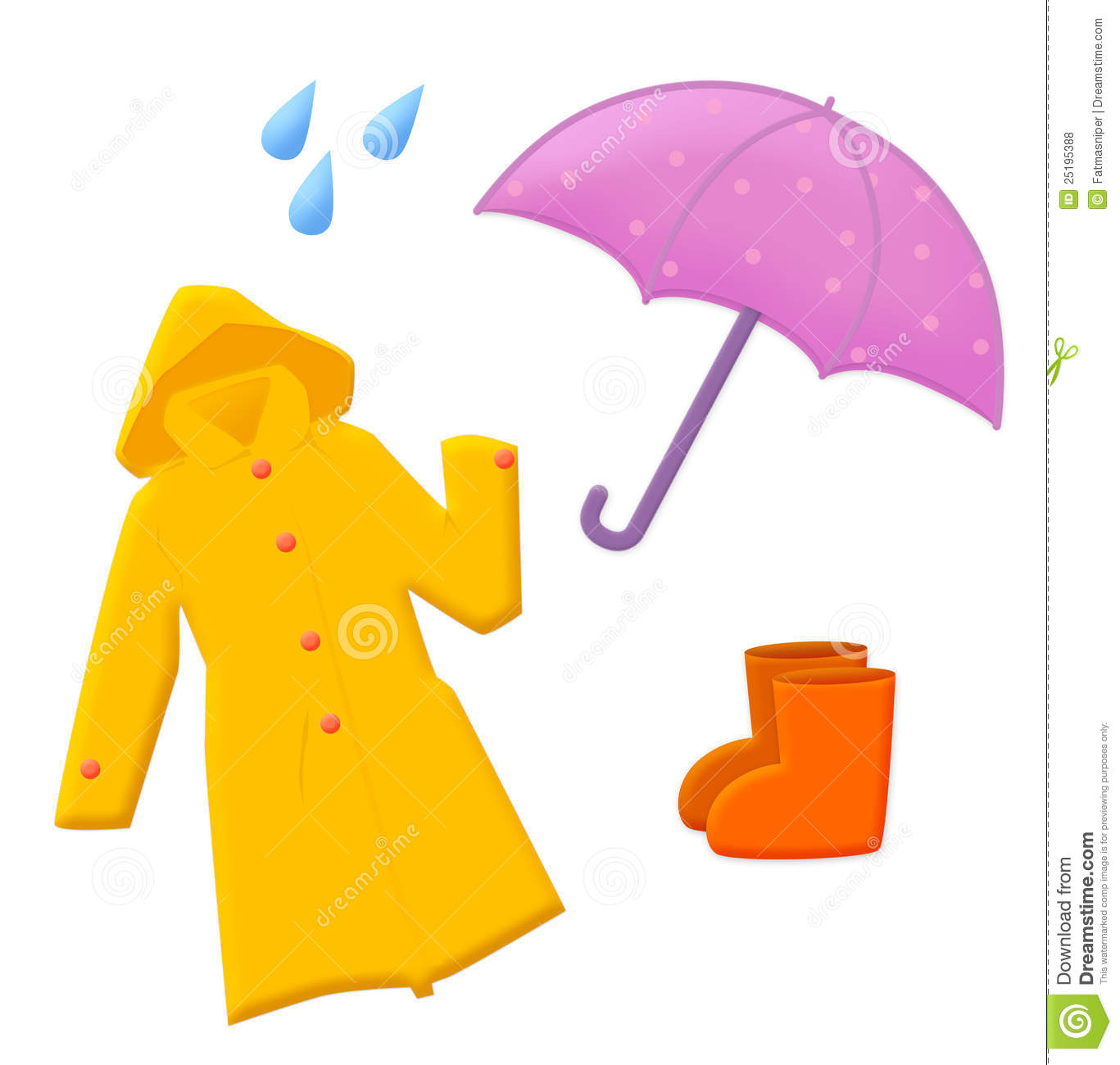 Umbrella Rain Clipart