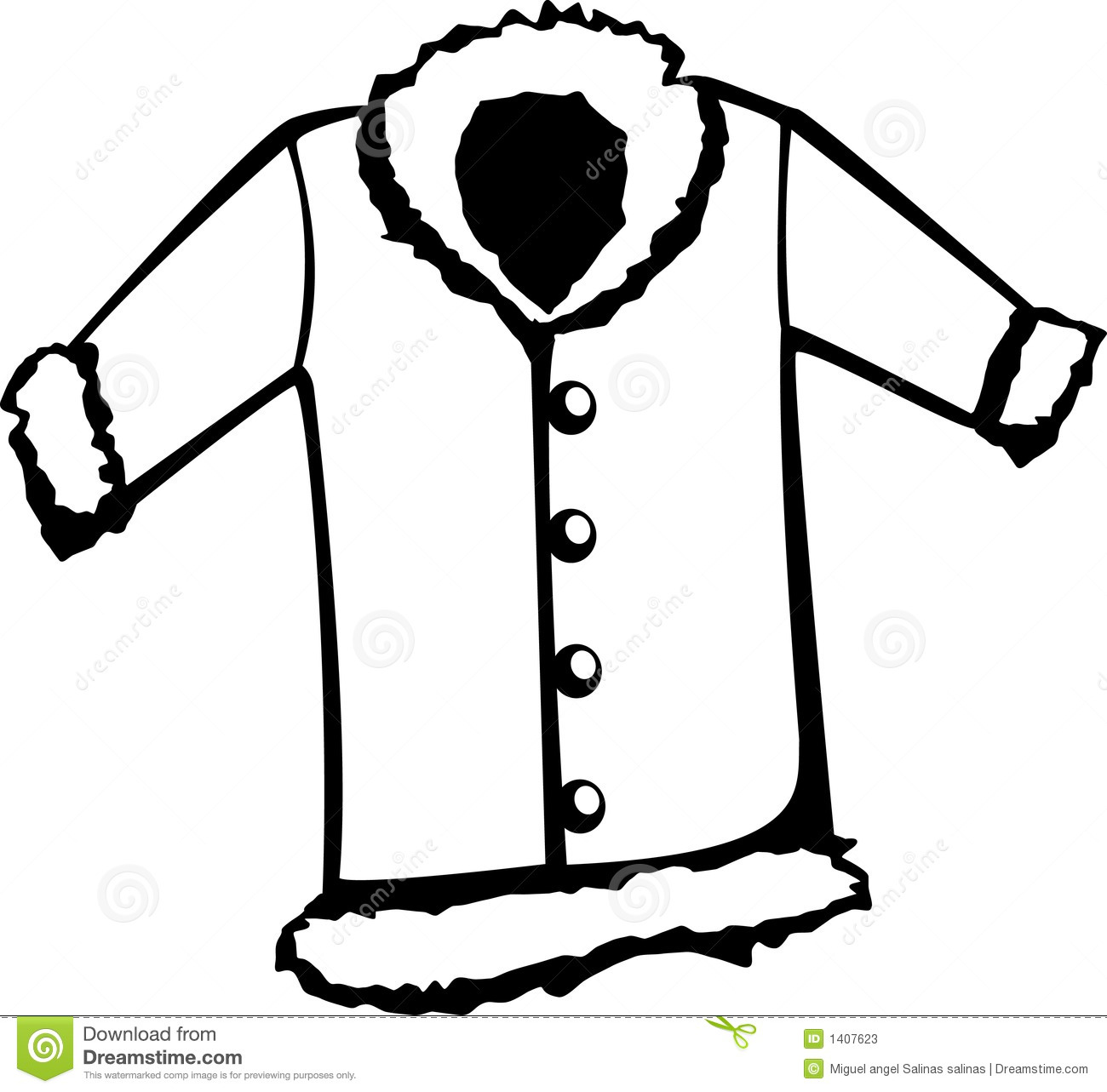 Vest Clipart Black And White