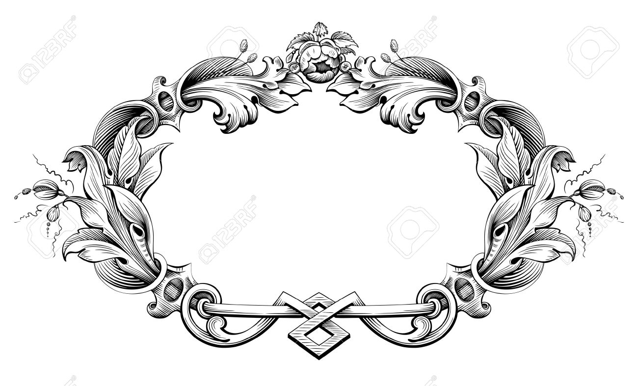 Victorian Frame Clipart