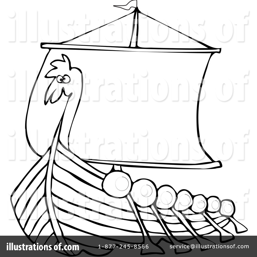 Viking Clipart Black And White
