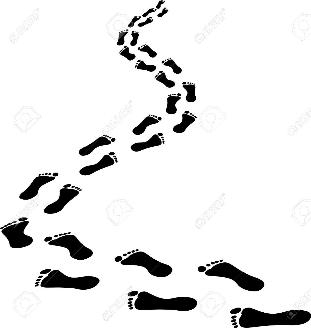 Walking Feet Clipart