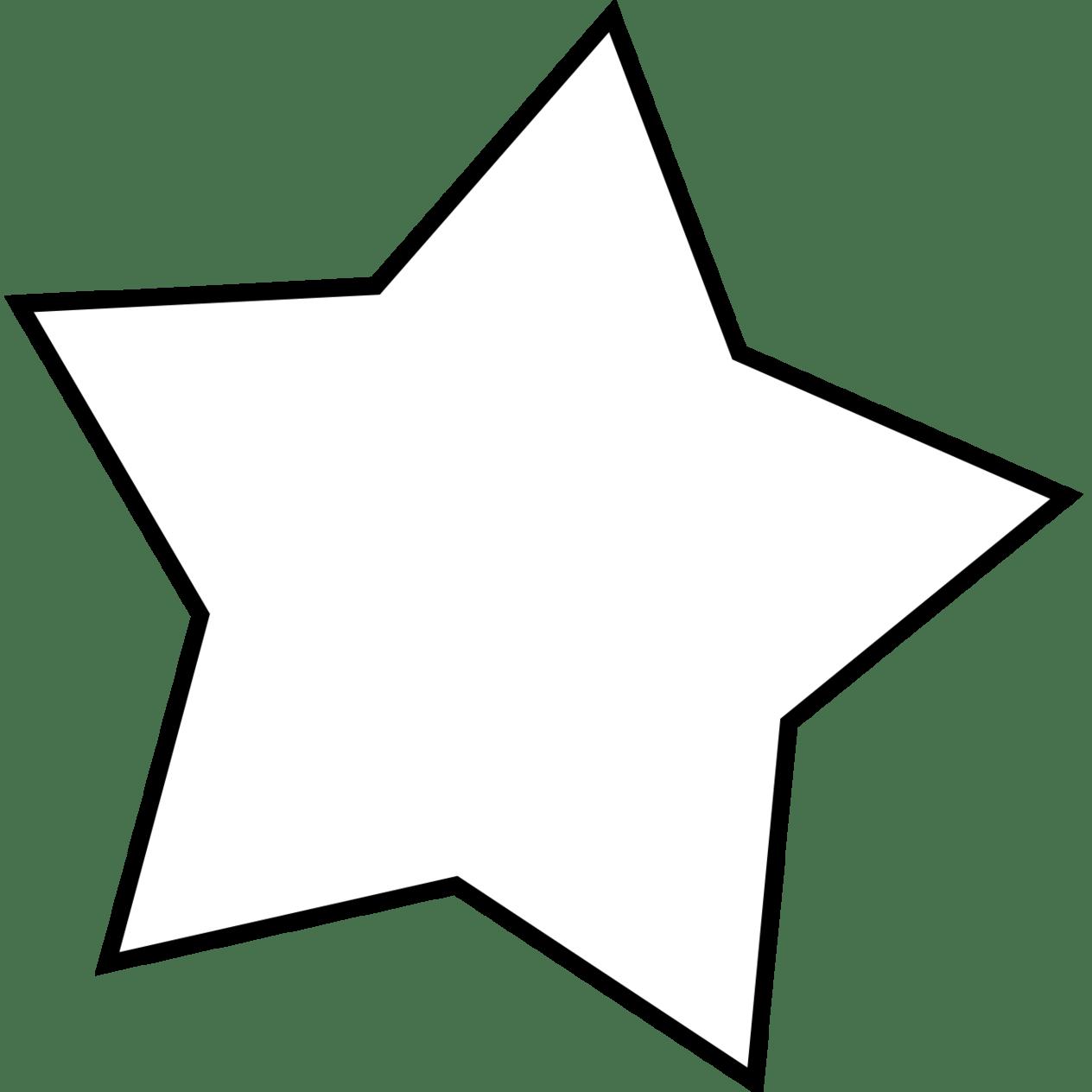 White Star Clipart