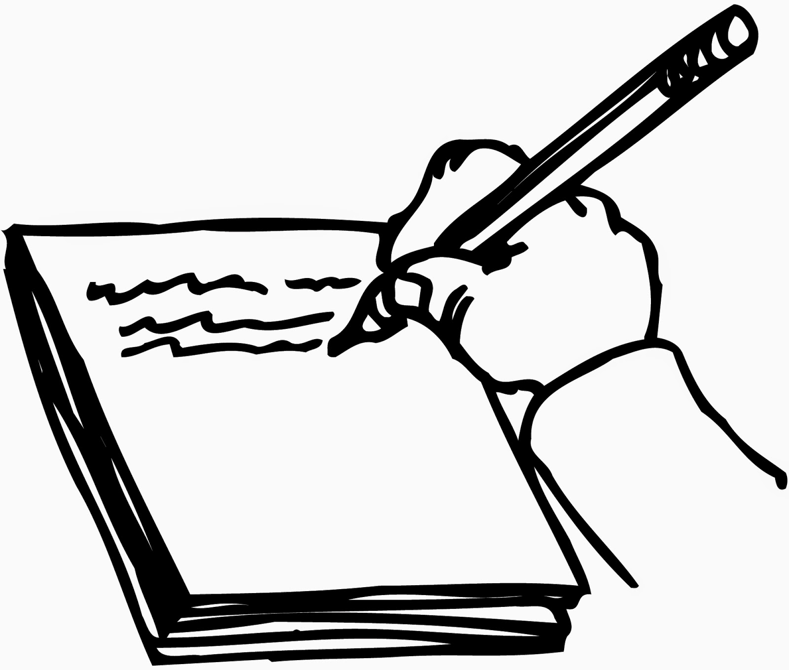 Writing Book Clipart