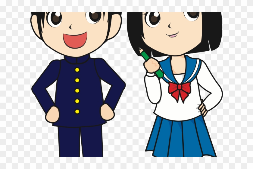 Japan Clipart Student