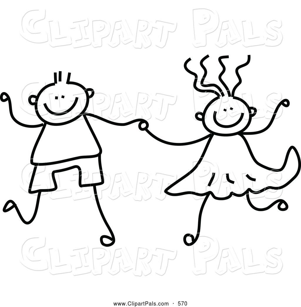 Anime Holding Hands Coloring Coloring Pages