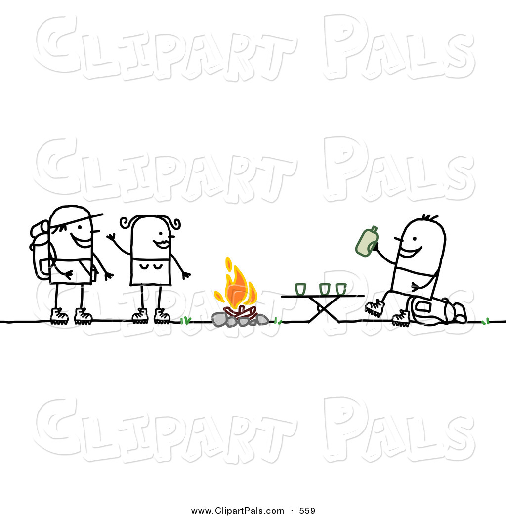 Royalty Free Stick People Stock Friend Designs