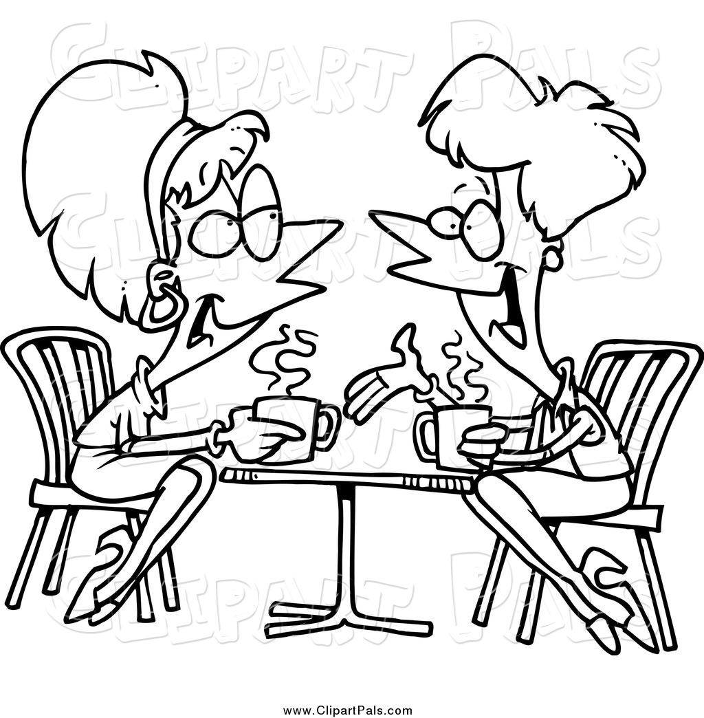 Friends Talking Clipart For Your Website